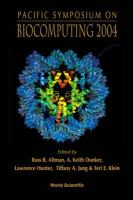 Cover image for Pacific symposium on biocomputing 2004 : Hawaii, USA, 6-10 January 2004