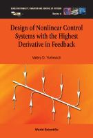 Cover image for Design of nonlinear control systems with the highest derivative in feedback