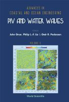 Cover image for PIV and water waves