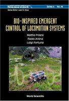 Cover image for Bio-inspired emergent control of locomotion systems