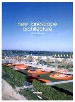 Cover image for New landscape architecture