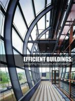 Cover image for Efficient buildings : designing for business administration