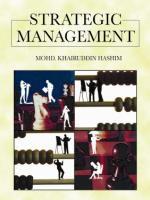 Cover image for Strategic management
