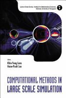 Cover image for Computational methods in large scale simulation