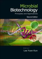 Cover image for Microbial biotechnology : principles and applications