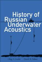 Cover image for History of Russian underwater acoustics
