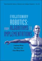 Cover image for Evolutionary robotics : from algorithms to implementations