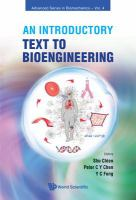 Cover image for Introductory text to bioengineering