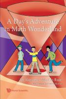 Cover image for A day's adventure in math wonderland