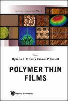 Cover image for Polymer thin films