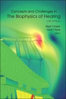 Cover image for Concepts and challenges in the biophysics of hearing : proceedings of the 10th International Workshop on the Mechanics of Hearing, Keele University, Staffordshire, UK, 27-31 July 2008