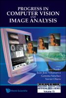 Cover image for Progress in computer vision and image analysis