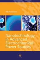 Cover image for Nanotechnology in advanced electrochemical power sources