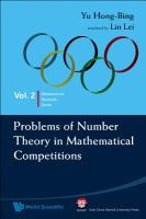 Cover image for Problems of number theory in mathematical competitions