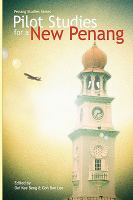 Cover image for Pilot studies for a new Penang