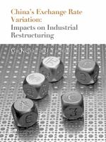 Cover image for China's exchange rate variation :  impacts on industrial restructuring