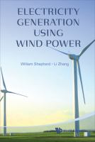 Cover image for Electricity generation using wind power