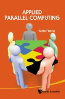Cover image for Applied parallel computing