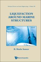 Cover image for Liquefaction around marine structures