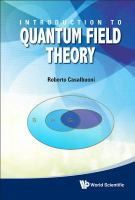 Cover image for Introduction to quantum field theory
