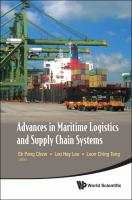 Cover image for Advances in maritime logistics and supply chain systems