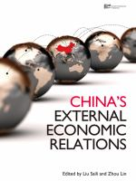 Cover image for China's external economic relations
