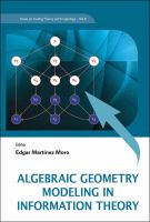 Cover image for Algebraic geometry modeling in information theory