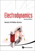 Cover image for Electrodynamics
