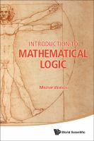 Cover image for Introduction to mathematical logic