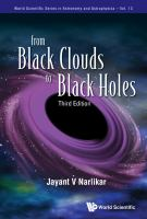 Cover image for From black clouds to black holes