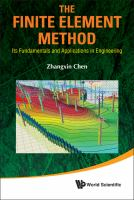 Cover image for The finite element method : its fundamentals and applications in engineering