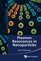Cover image for Plasmon resonances in nanoparticles