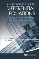 Cover image for An introduction to differential equations