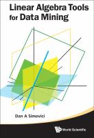 Cover image for Linear algebra tools for data mining
