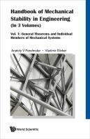 Cover image for Handbook of stability in structural engineering