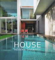 Cover image for House : modern diversity