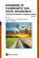 Cover image for Handbook of environment and waste management. Volume 2, Land and groundwater pollution control