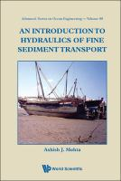 Cover image for An introduction to hydraulics of fine sediment transport