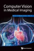 Cover image for Computer vision in medical imaging