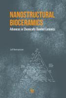 Cover image for Nanostructural bioceramics : advances in chemically bonded ceramics