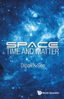 Cover image for Space, time and matter