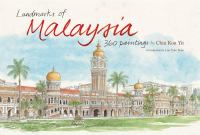Cover image for Landmarks of Malaysia : 360 paintings