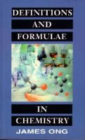 Cover image for Definitions and formulae in chemistry