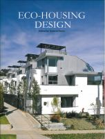 Cover image for Eco-housing design