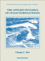 Cover image for The applied dynamics of ocean surface waves