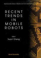 Cover image for Recent trends in mobile robots