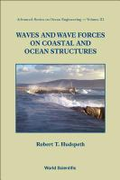 Cover image for Waves and wave forces on coastal and ocean structures