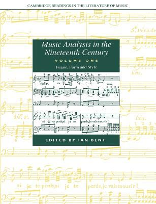 Cover of Music Analysis in the Nineteenth Century