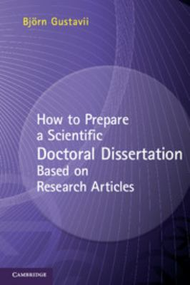 Cover image how to prepare a scientific doctoral dissertation