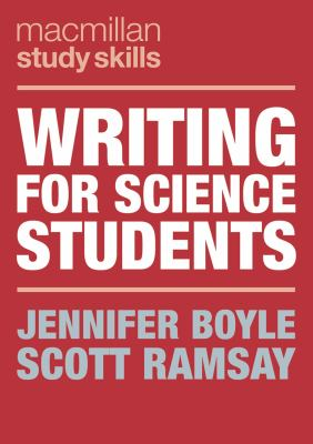 Cover of Writing for Science Students